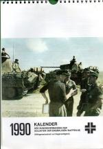 1990 Kalender - Des Bundesverbandes Der Soldaten Der Ehemaligen Waffen-SS