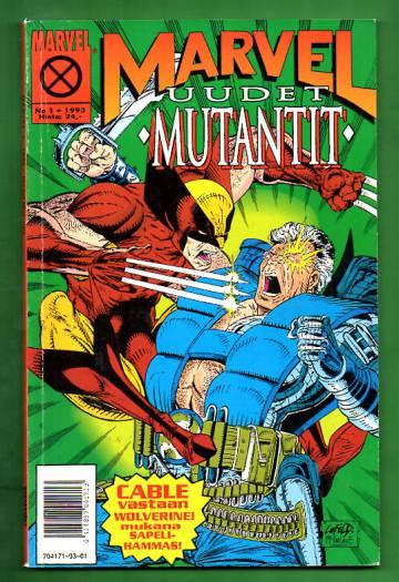 Marvel 1/93 - Uudet mutantit