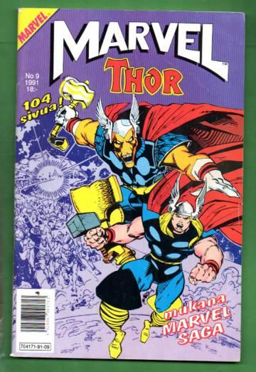 Marvel 9/91 - Thor + Marvel Saga 9