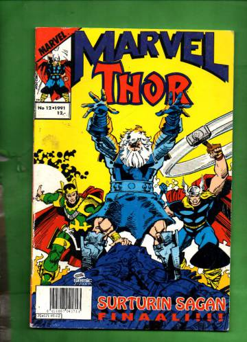 Marvel 12/91 - Thor