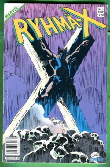 Ryhmä-X 5/92 (X-men)