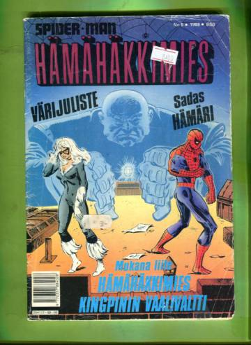 Hämähäkkimies 6/88 (Spider-Man) + LIITE