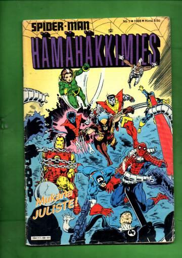 Hämähäkkimies 1/88 (Spider-Man)