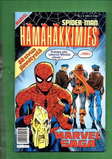 Hämähäkkimies 2/90 (Spider-Man) + Marvel Saga