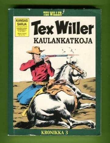 Tex Willer -kronikka 3 - Kaulankatkoja & Salamurhaaja