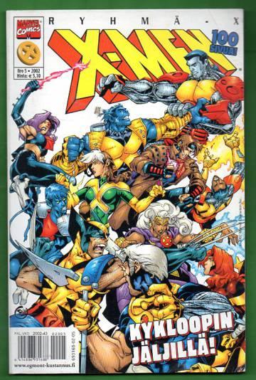X-Men 5/02 (Ryhmä-X)