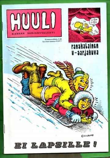 Huuli - Kansan sarjakuvalehti 9/77 (K-18)