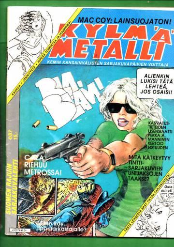 Kylmä metalli 4/87
