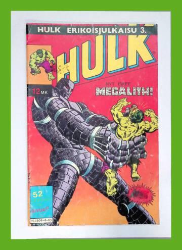 Hulk-erikoisjulkaisu 3/84