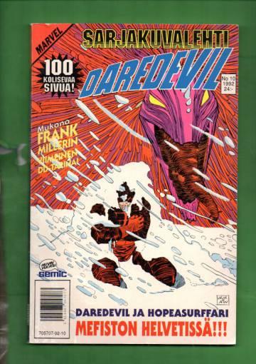Sarjakuvalehti 10/92 - Daredevil