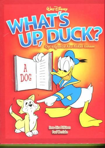What's up, duck? - Opi englantia Aku Ankan kanssa