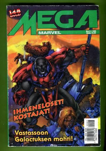 Mega-Marvel 3/99 - Ihmeneloset, Kostajat
