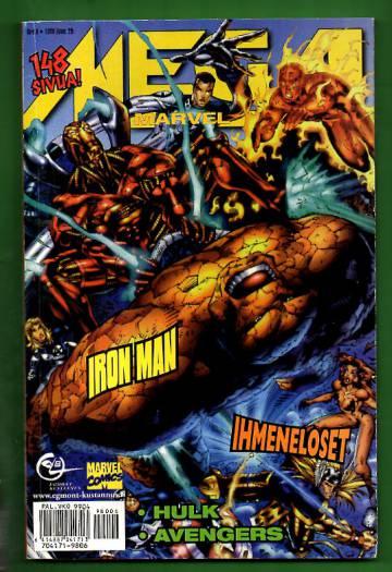 Mega-Marvel 6/98 - Ihmeneloset, Iron man, Hulk & Avengers