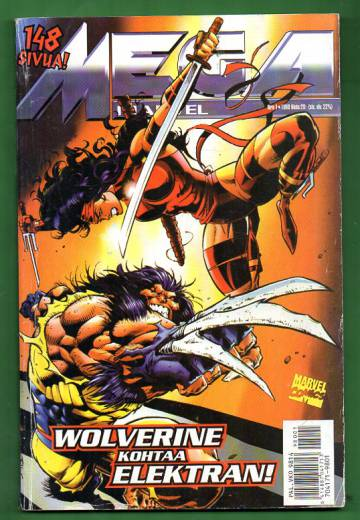 Mega-Marvel 1/98 - Wolverine