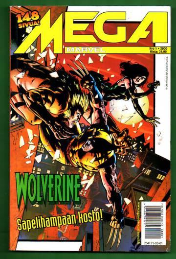 Mega-Marvel 1/00 - Wolverine