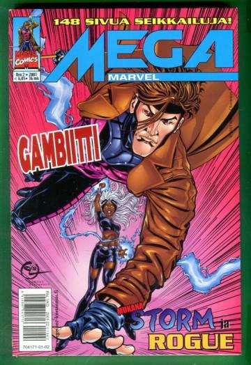 Mega-Marvel 2/01 - Gambiitti, Storm, Rogue