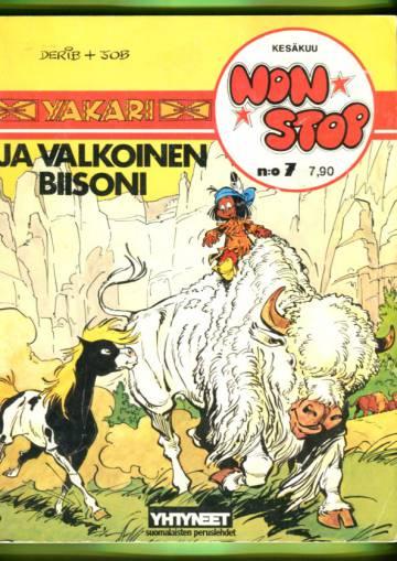 Non Stop 7 (albumi 4) - Yakari ja valkoinen biisoni