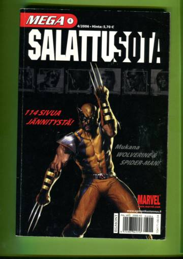 Mega 4/06 - Salattu sota (Mega-Marvel)