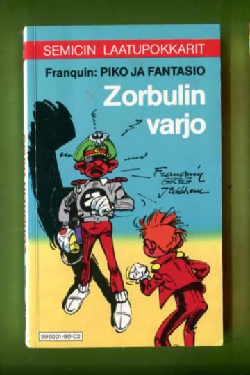 Semicin laatupokkarit 3 - Piko ja Fantasio: Zorbulin varjo