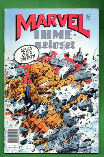 Marvel 1/89 - Ihmeneloset
