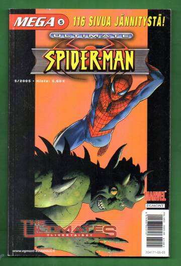 Mega 5/05 - Ultimate Spider-man (Mega-Marvel)