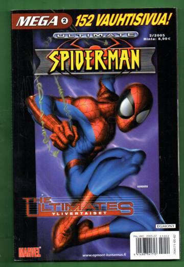 Mega 2/05 - Ultimate Spider-man & Ylivertaiset (Mega-Marvel)