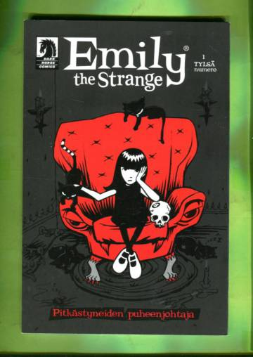 Emily the Strange 1 - Pitkästyneiden puheenjohtaja