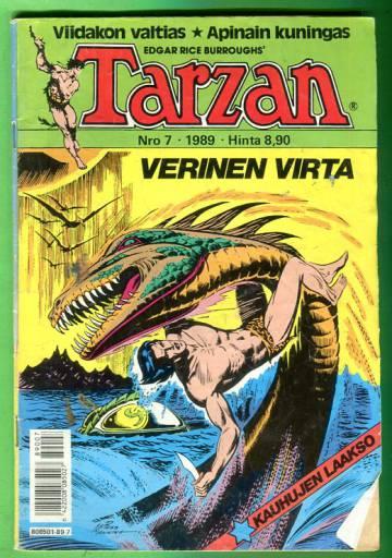 Tarzan 7/89