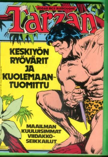 Tarzan-albumi 1981 - Keskiyön ryövärit & Kuolemaantuomittu