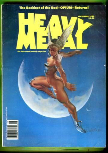 Heavy Metal Vol. XIII #4 Sep 89