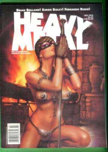 Heavy Metal Vol. XVI, No. 2, July 1992