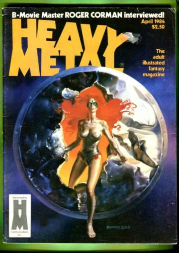 Heavy Metal Vol. VIII #1 Apr 84