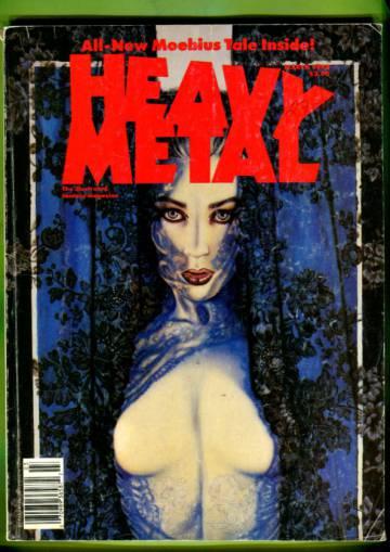 Heavy Metal Vol. XIV #1 Mar 90