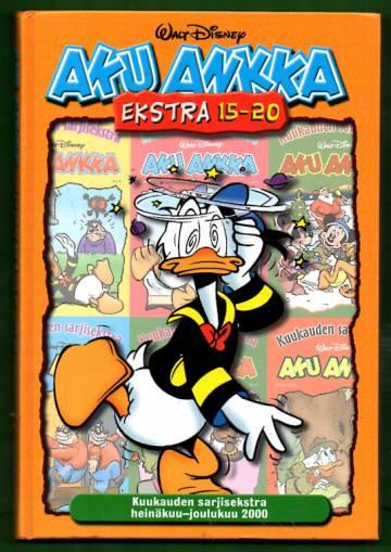 Aku Ankka - Ekstra 15-20: Kuukauden sarjisekstra heinäkuu-joulukuu 2000