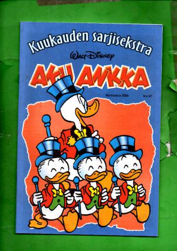 Aku Ankka - Kuukauden sarjisekstra 67 (Marraskuu 04)
