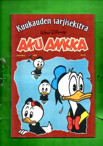 Aku Ankka - Kuukauden sarjisekstra 57: Tammikuu 2004