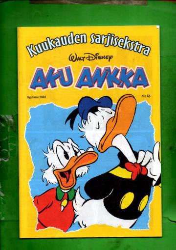 Aku Ankka - Kuukauden sarjisekstra 53: Syyskuu 2003