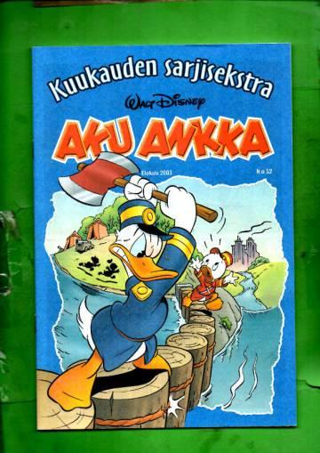 Aku Ankka - Kuukauden sarjisekstra 52: Elokuu 2003