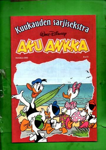 Aku Ankka - Kuukauden sarjisekstra 51: Heinäkuu 2003