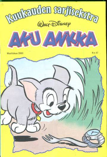 Aku Ankka - Kuukauden sarjisekstra 47: Maaliskuu 2003