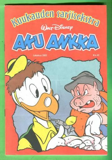 Aku Ankka - Kuukauden sarjisekstra 42: Lokakuu 2002