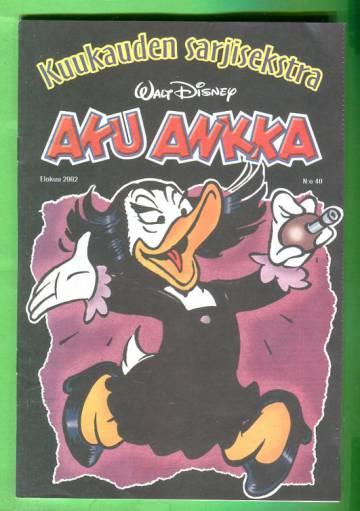 Aku Ankka - Kuukauden sarjisekstra 40: Elokuu 2002