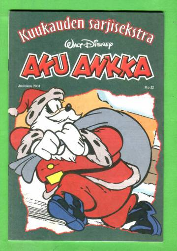 Aku Ankka - Kuukauden sarjisekstra 32: Joulukuu 2001