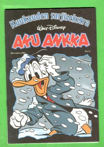 Aku Ankka - Kuukauden sarjisekstra 31: Marraskuu 2001
