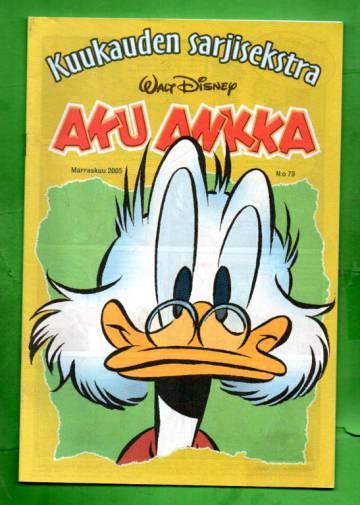 Aku Ankka - Kuukauden sarjisekstra 79 (Marraskuu 05)