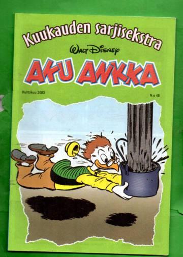 Aku Ankka - Kuukauden sarjisekstra 48 (Huhtikuu 03)