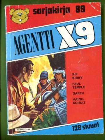 Semicin sarjakirja 89 - Agentti X9