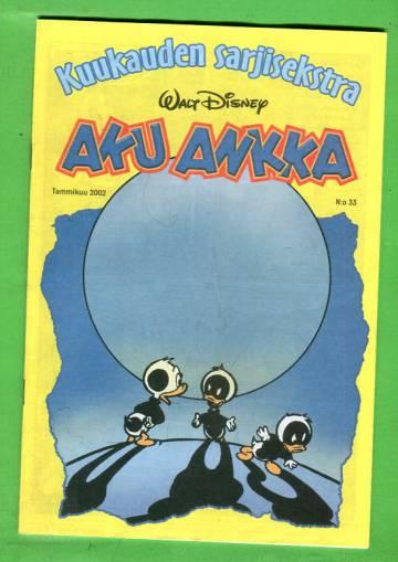 Aku Ankka - Kuukauden sarjisekstra 33: Tammikuu 2002