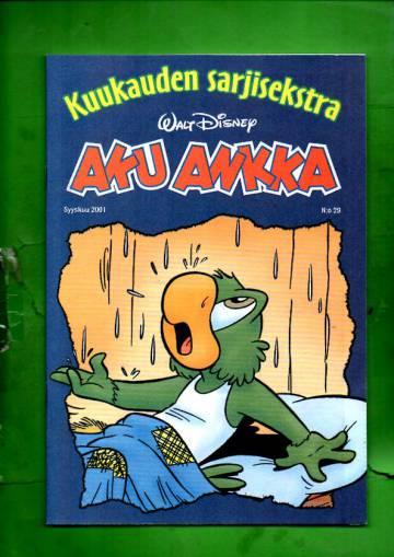 Aku Ankka - Kuukauden sarjisekstra 29: Syyskuu 2001