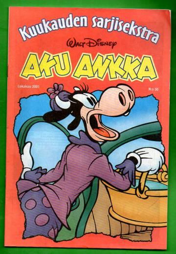 Aku Ankka - Kuukauden sarjisekstra 30: Lokakuu 2001